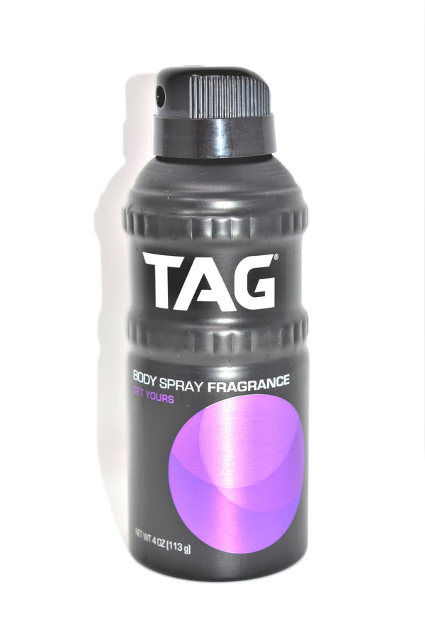 Tag Get Yours Body Spray Fragrance, 4 oz.