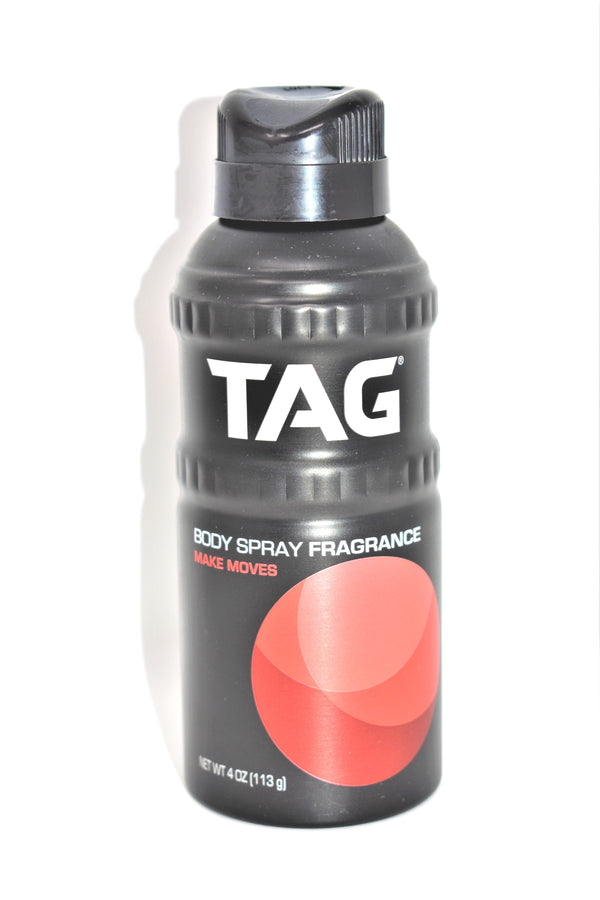 Tag Make Moves Body Spray Fragrance, 4 oz.