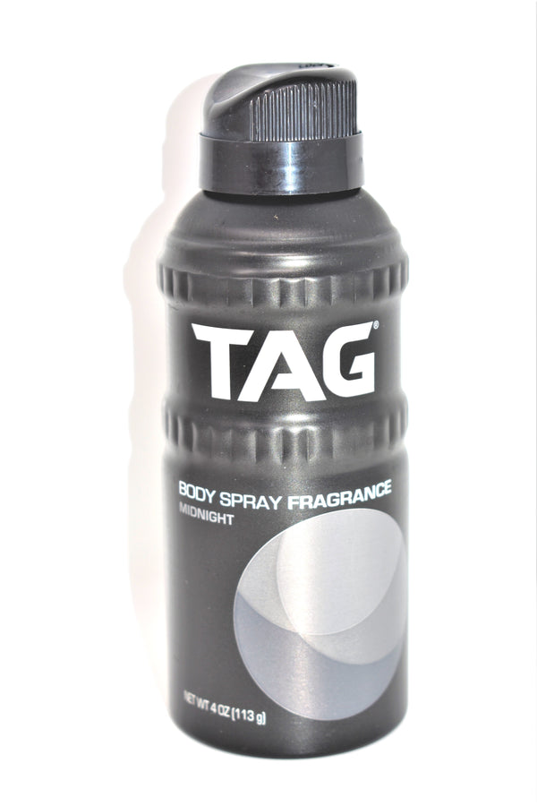 Tag Minight Body Spray Fragrance, 4 oz.