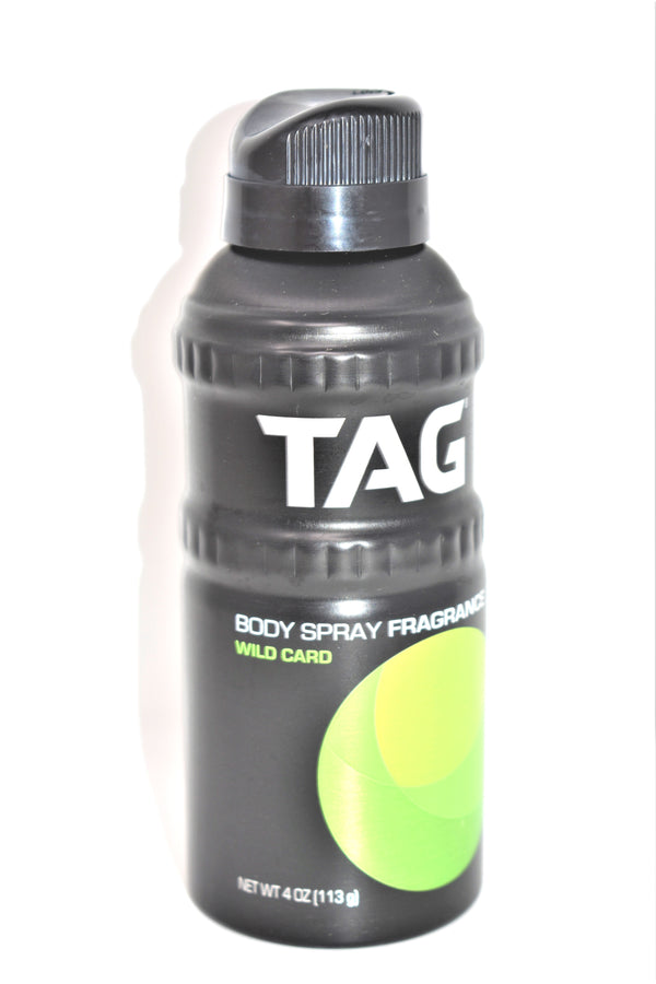 Tag Wild Card Body Spray Fragrance, 4 oz.