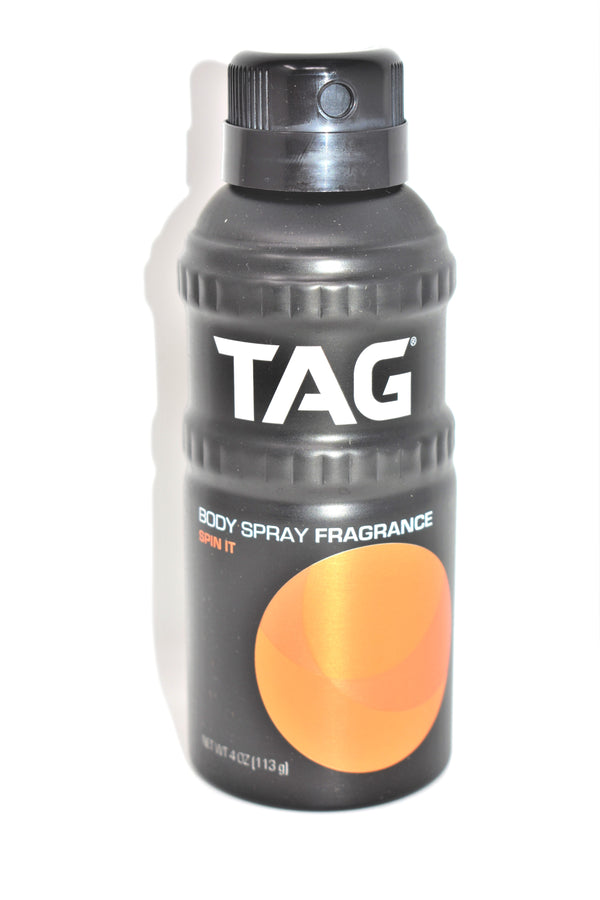 Tag Spin It Body Spray Fragrance, 4 oz.