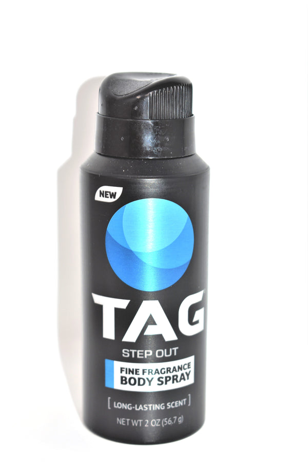 Tag Step Out Fine Fragrance Body Spray, 2 oz.