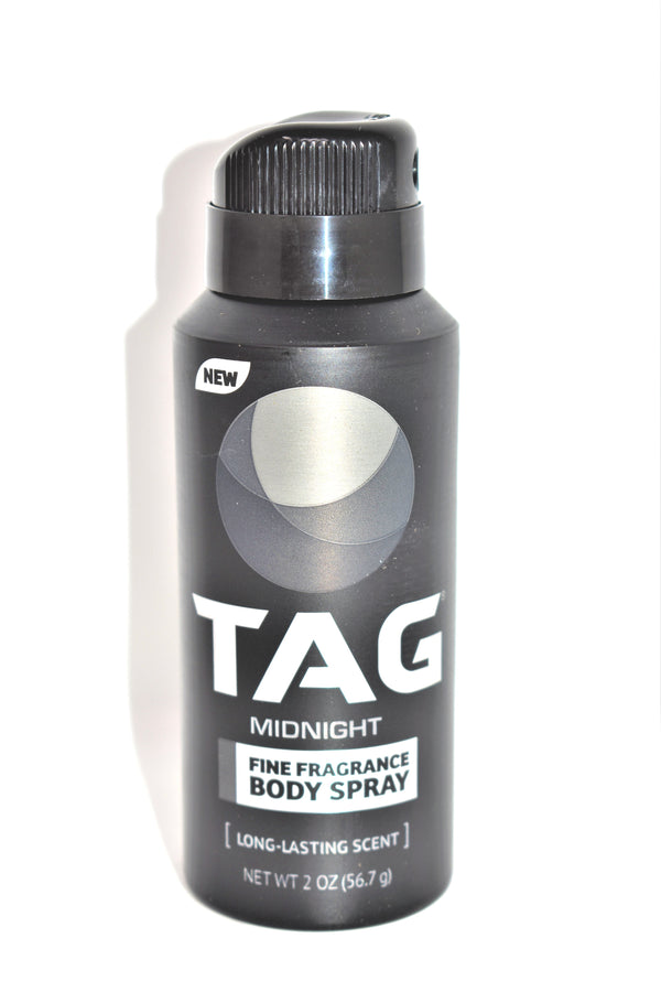 Tag Midnight Fine Fragrance Body Spray, 2 oz.