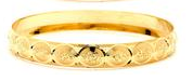 14 KT Gold Filled Bangle 45 mm, Size-2