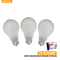 60 Watts Soft White Light Bulbs, 3-ct.
