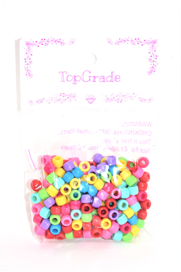 8mm Assorted Colors Acrylic Beads, 240 ct.