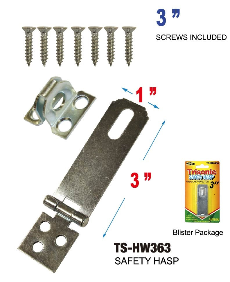 "3"" Safety Hasp"