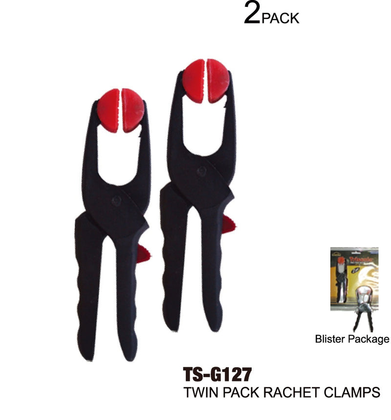 Twin Pack Rachet Clamps, 2-ct.