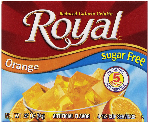 Royal Orange Sugar Free, 0.32 oz