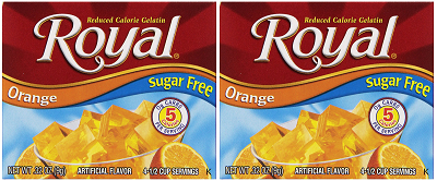 Royal Orange Sugar Free, 0.32 oz (Pack of 2)