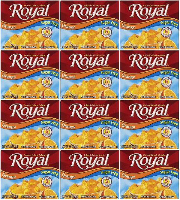 Royal Orange Sugar Free, 0.32 oz (Pack of 12)