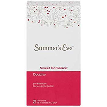 Summer's Eve Sweet Romance Douche, 2 Pack, 4.5 fl oz.