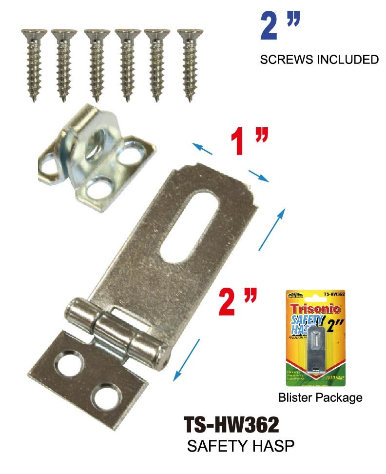 "2"" Safety Hasp"
