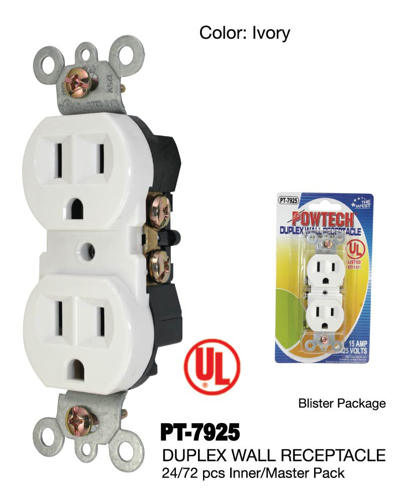 Duplex Wall Receptacle