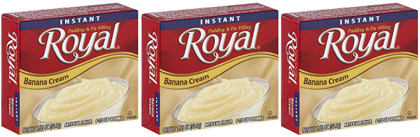 Royal Banana Cream, 1.85 oz (Pack of 3)