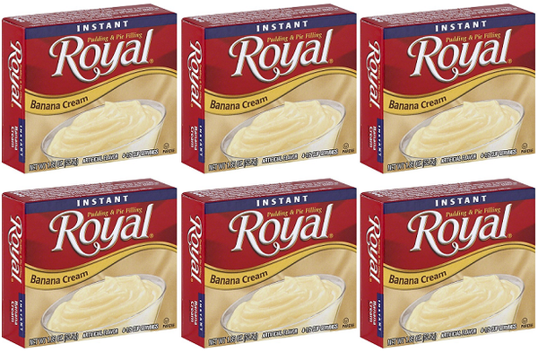 Royal Banana Cream, 1.85 oz (Pack of 6)