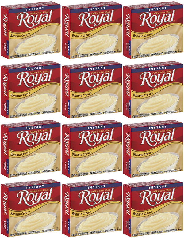 Royal Banana Cream, 1.85 oz (Pack of 12)