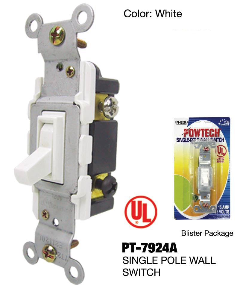 Single-Pole Wall Switch