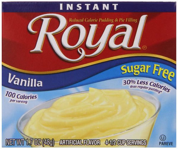 Royal Vanilla Sugar Free, 1.69 oz
