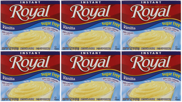 Royal Vanilla Sugar Free, 1.69 oz (Pack of 6)