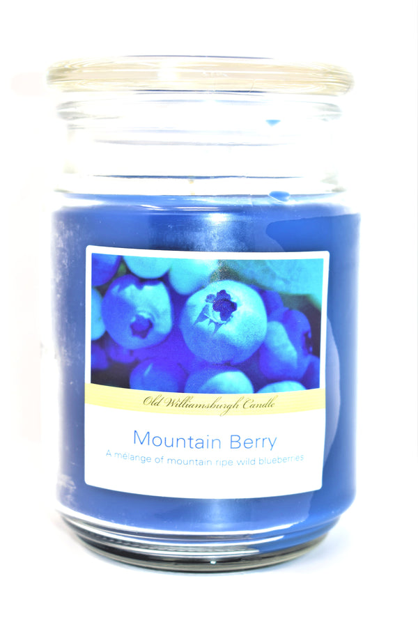 Old Williamsburgh Candle Mountain Berry Scent, 18 oz.