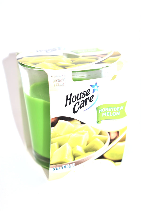 House Care Honeydew Melon Jar Candle, 3 oz