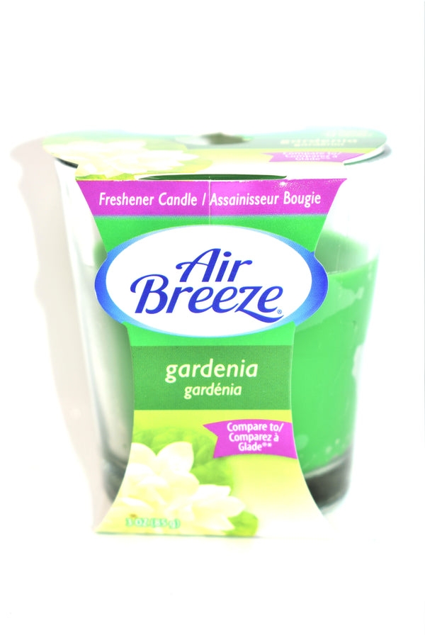 Air Breeze Gardenia Jar Candle, 3 oz.