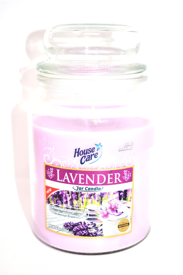 House Care Lavender Jar Candle, 18 oz.