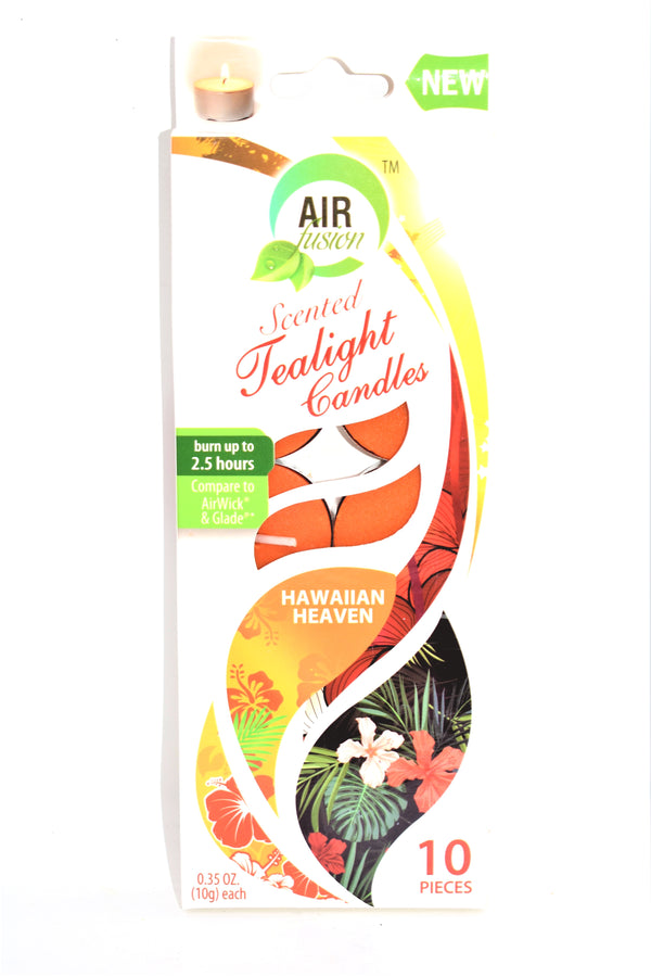 Air Fusion Hawaiian Heaven Scented Tealight Candles, 10 ct.