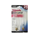 25 Watts Decorator Light Bulb, 2-ct.