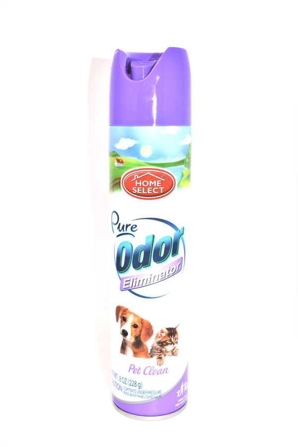 Home Select Pure Odor Eliminator Pet Clean Scent, 8 oz.