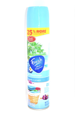 Home Select Fresh Linen Fresh Home Fragrance Air Freshener, 10 oz.