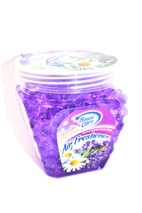 Lavender Chamomile Natural Scented Crystal Beads Air Freshener, 12 oz.