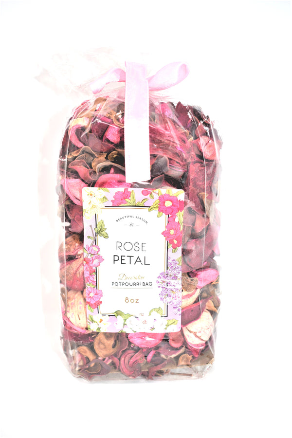 Rose Petal Decorative Potpourri Bag, 8 oz.