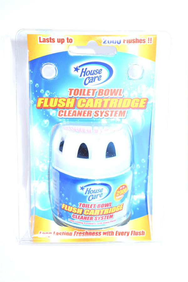 House Care Toilet Bowl Flush Cartridge Cleaner System