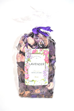 Lavender Decorative Potpourri Bag, 8 oz.