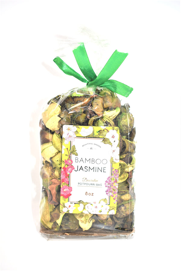 Bamboo Jasmine Decorative Potpourri Bag, 8 oz.