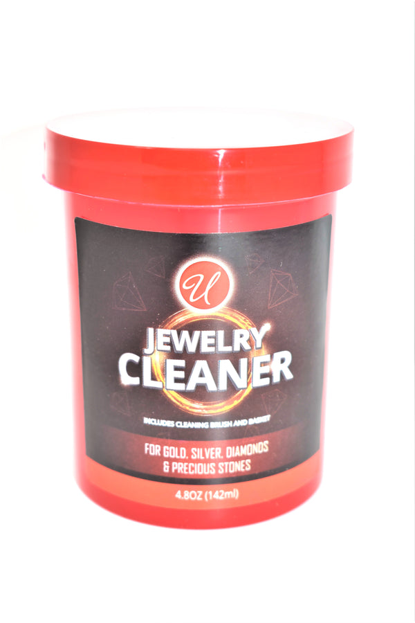 Jewelry Cleaner for Gold, Silver, Diamonds, & Precious Stones, 4.8 oz.