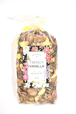 French Vanilla Decorative Potpourri Bag, 8 oz.