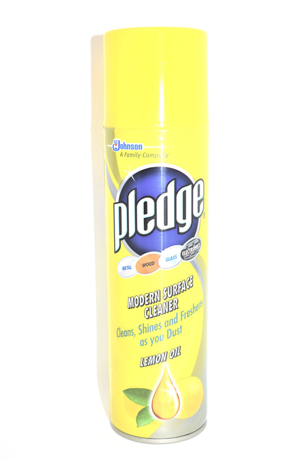 Pledge Modern Surface Cleaner Lemon Scented, 275 ml