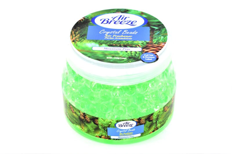Air Breeze Mountain Pine Crystal Beads Air Freshener, 12 oz.