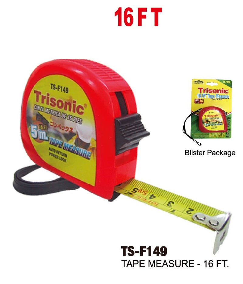 16 Foot Tape Measure, 16 ft.