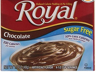 Royal Chocolate Sugar Free, 1.69 oz