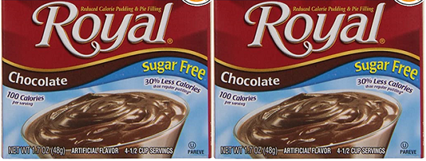 Royal Chocolate Sugar Free, 1.69 oz (Pack of 2)