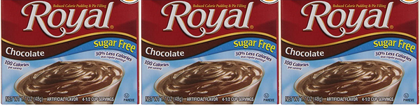 Royal Chocolate Sugar Free, 1.69 oz (Pack of 3)