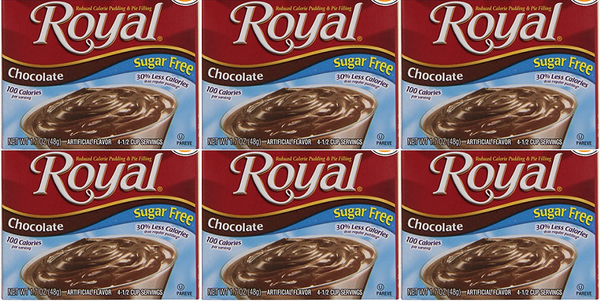 Royal Chocolate Sugar Free, 1.69 oz (Pack of 6)