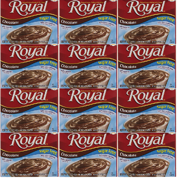Royal Chocolate Sugar Free, 1.69 oz (Pack of 12)