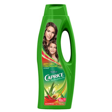 Palmolive Caprice Shampoo Anti Caida Y Proteccion + Chile, 750 ml