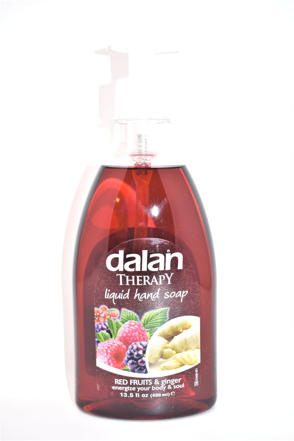 Dalan Therapy Red Fruits &Ginger Hand Soap, 13.5 fl oz.