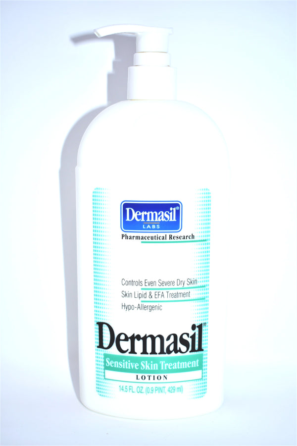Dermasil Labs Sensitive Skin Treatment Lotion, 14.5 fl oz.